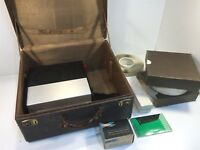 Sawyers 600 Rotomatic 2x2 Slide Projector NICE With Accessories Slides Case