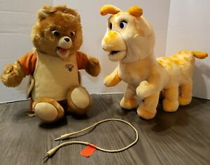 Teddy Ruxpin Grubby And Connection Cord Alchemy 1985 UNTESTED AS IS Parts/Repair