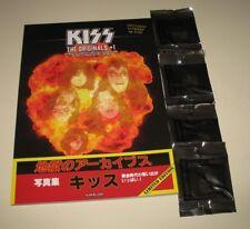 KISS The Originals + 1 book - magazine - 4 Paul Stanley Guitar picks
