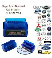 Top Quality Diagonistic  auto scanner   ELM327 Bluetooth OBD2 II  interface V2.1
