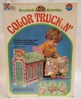 Milton Bradley Vintage 1978 Color Truckin Coloring Activity Craft Rare Sealed