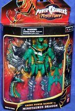 "Power Rangers Mystic Force 7"" Green Ranger to Minotaurus Dragon New 2006"