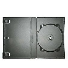 3 Pieces 27mm 12 Disc Stackable Black DVD Case 1 Hub Stackable Up To 12 Discs