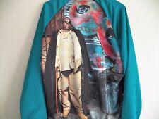 New Hypnotize Notorious BIG Biggie Smalls Mens Extra Large Zip Up Jacket NWT XL