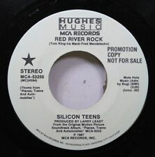 Rock Promo 45 Silicon Teens - Theme From Planes, Trains And Auto-Mobiles / Theme