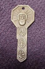 Vintage St Christopher key medallion made in Italy