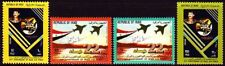 Irak Iraq 1985 ** Mi.1243/46 Luftwaffe Air Force Flugzeuge Aircraft