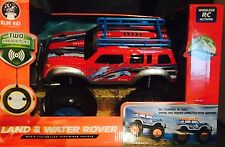 REMOTE CONTROL TRUCK LAND AND WATER ROVER RED COLOR BRAND NEW!