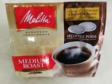 Melitta Coffee Pods For Senseo Hamilton Beach Pod Brewers Medium Roast Soft New
