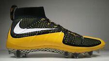 Nike Vapor Untouchable TD Football Cleats Mens Size 9 Black Yellow 707455-025