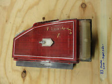 83 Chevy Monte Carlo RIGHT PASSENGER SIDE TAIL LIGHT TAILLIGHT LAMP LENS BEZEL