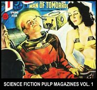 Pulp Magazine SCIENCE FICTION STORIES DVD [1] Golden Age Tom Corbett Buck Rogers