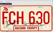 CATHERINE BACH Signed Autograph Metal License Plate THE DUKES OF HAZZARD JSA