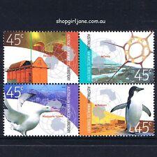 2002 - Australia AAT - Research - se-tennant block of 4 - MNH