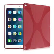 Silicone Copertura Protettiva X-Line Rosso Custodia per Apple iPad Pro 9.7