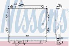 Nissens 64683A Radiator TOYOTA HI-LUX 2.4 TD 97-
