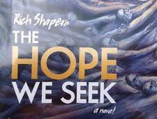 The Hope we Seek Novel by Rich Shapero + Songs CD by Marissa Nadler (2014, NEW)