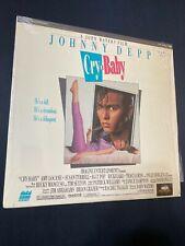 CRY-BABY (Johnny Depp) CLV/CAV Laserdisc LD *Like New*