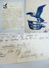 Brief KORBACH 1921, DNVP-Abgeordneter Waldschmidt / Deutschnationale Volkspartei