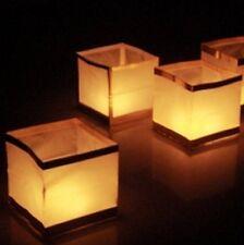 4 x Wasserlaterne - Wasserlampion - Hochzeit - Feuerwerk - Gartenparty - Event