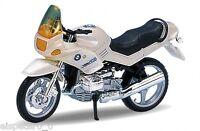 BMW R1100 RS, bianco perla, Welly Moto Modello 1:18, Nuovo, conf. orig.
