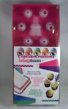 Cupcake Two color icing and Decorating Set