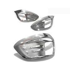 Left Right Fog Light Lamp ChromeTrim Cover For 10 11 12 Hyundai Tucson ix35