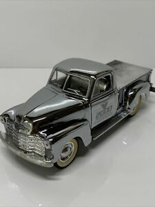 Liberty Classics 1/25 1949 Chevy Pickup Millennium Truck Chrome Silver Flawed