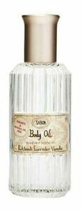 sabon Body oil Patchouli Lavender Vanilla -PARABEN & MINERAL OIL FREE