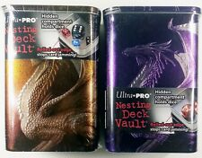 ULTRA PRO DECK VAULT SET PURPLE + Bronzo Dragon moltiplica Ciruelo