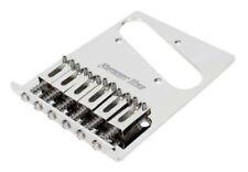 NEW Hipshot BRIDGE for Fender Telecaster Tele 6 Saddle, 4 Hole Chrome 44100-46