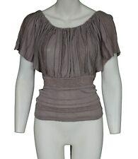 KOOKAI metalilc Tread Top-Femme Taille UK 4-KOOKAI taille 0