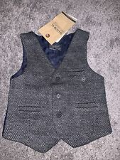 mayoral baby lined waistcoat blue navy 9 Months