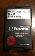 FUTABA G TRANSMITTER MODULE FP-TF-AM 72.830 WIDE BAND CH42 FGK