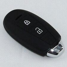 Black silicone rubber key cover holder case For SUZUKI Swift Sport SX4 SCORSS