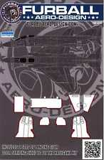 Furball Decals 1/48 F-4 PHANTOM II LANDING GEAR DOOR STRIPING Hasegawa Kit