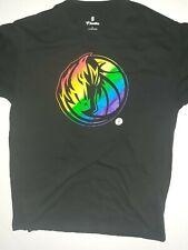 Dallas Mavericks NBA Fanatics Men's L Black Logo Short Sleeve T-Shirt