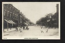 Grantham - London Road - real photographic postcard