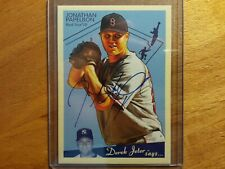 JONATHAN PAPELBON 2008 UD GOUDEY AUTO AUTOGRAPH ROOKIE RC IN CASE RED SOX! ^*