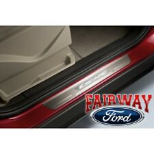 13 thru 18 Escape OEM Genuine Ford Parts Stainless Steel Door Sill Plate Kit 2pc