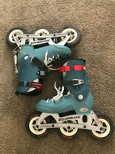 Vintage Rollerblade Coyote mens size 12 in line off road skates