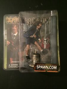 AC/DC (Angus Young) Action Figure, McFarlane Toys, NIB, Excellent Condition!