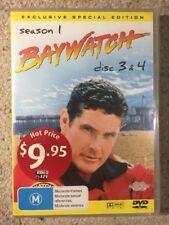 Baywatch Season 1 Disc 3 & 4 - Brand New Sealed All Regions DVD