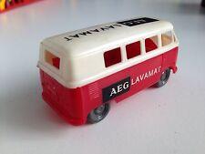 VW BUS Bulli T1 AEG Lavamat Plastik Werbemodell ca. 1:55
