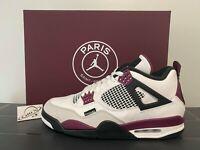 Nike Air Jordan Retro 4 PSG Paris Saint-Germain CZ5624-100 Size 4-13