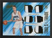2015-16 Absolute Tools of the Trade Rookie Six Prime #5 Mario Hezonja Jersey /49