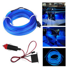 200cm Led Car Interior Decorative Atmosphere Wire Strip Light Lamp Accessories (Fits: Peugeot)