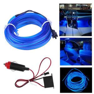 200cm LED Car Interior Decorative Atmosphere Wire Strip Light Lamp Accessories