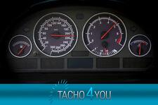Tachoscheiben für BMW 300 kmh Tacho E39 Benzin Schwarz 3308 Tachoscheibe km/h X5