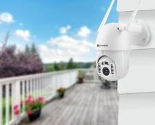 Wireless Outdoor WiFi IP PTZ Camera 1080P HD Security Surveillance CCTV Dome